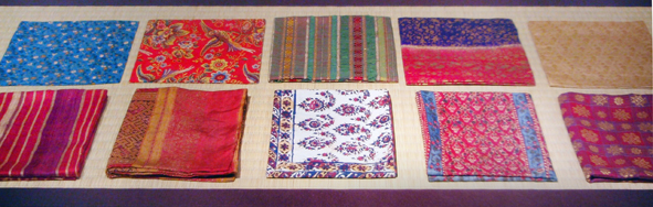 Antique silk fukusas