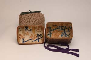 Inside: Edo period cloth